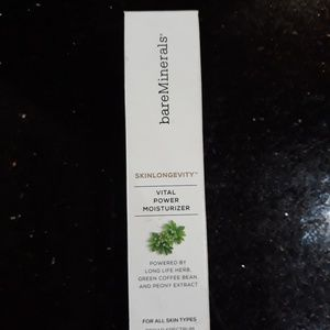 Bareminerals skin longevity moisturizer